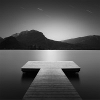 Still Water - Peaceful Black and White Photos