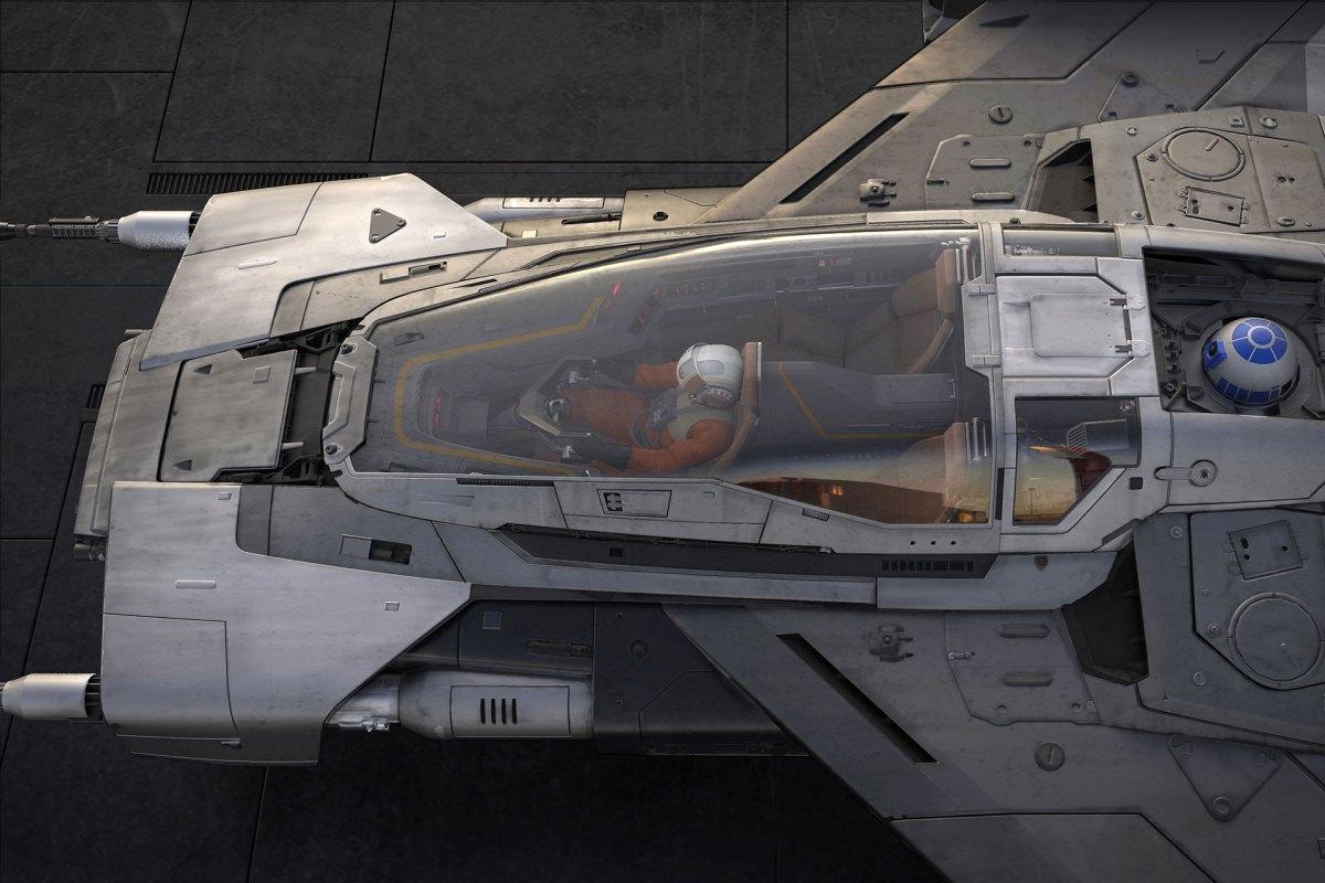 Star Wars Porsche starfighter
