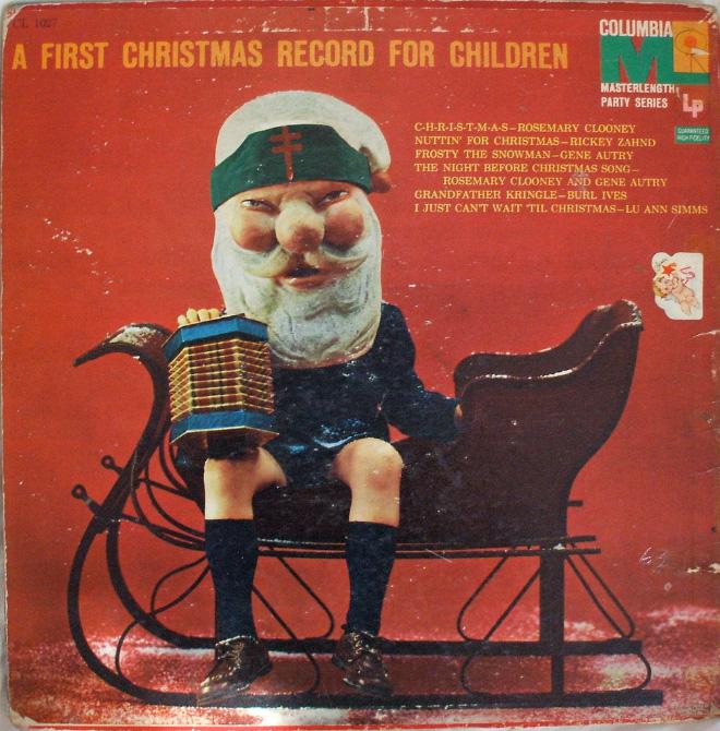 strange and awkward Christmas albums
