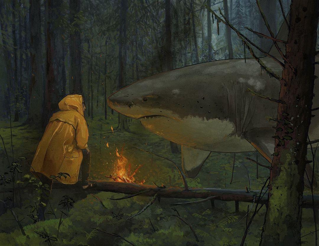 chris-austin-shark-paintings-moss-and-fog-3