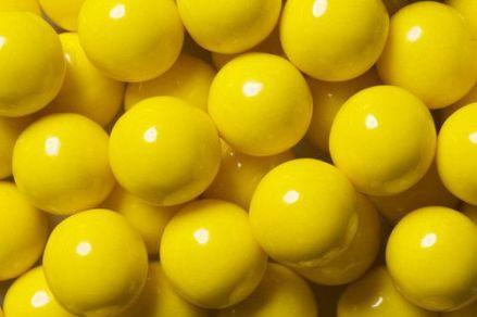 Yellow Premium Gourmet Gumball