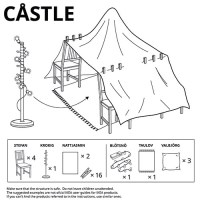 IKEA Releases 6 Furniture Fort Plans for Quarantine Fun