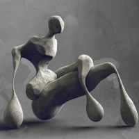 Powerfully Abstracted Sculptures by Andy Hixon
