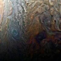 Jupiter's Gorgeous Storms