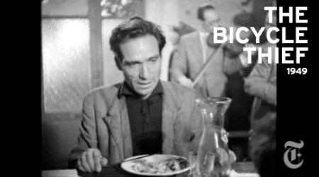 The Bicycle Thief by Vittorio De Sica
