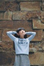 Hades, Patti Smith blue jumper
