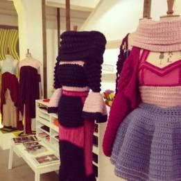 Stacie Clark, graduate collection, knitwear design 10