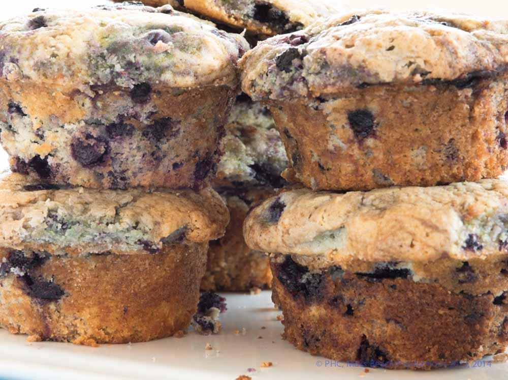 Best Breakfast Blueberry Muffins (BBB)