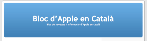 Bloc d'Apple en Català