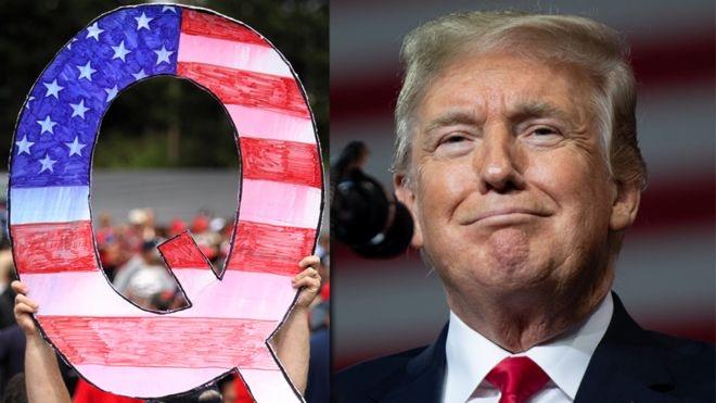 QAnon i en Trump