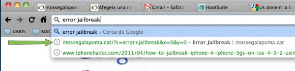 Cerca amb Google Chrome