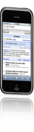 google reader per iphone
