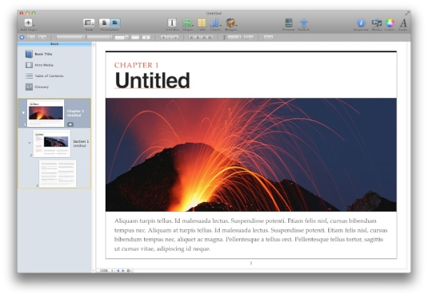 iBooks Author Layout
