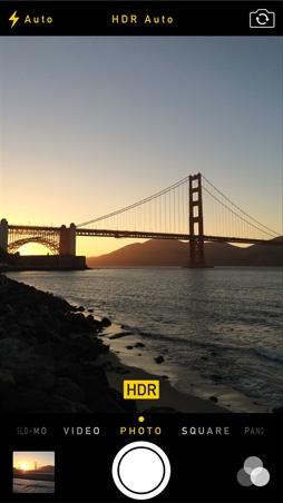 iOS 7.1 HDR