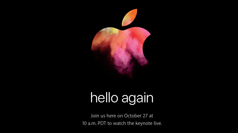 apple keynote hello again