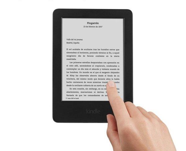 Lector Kindle per a regalar el dia del pare