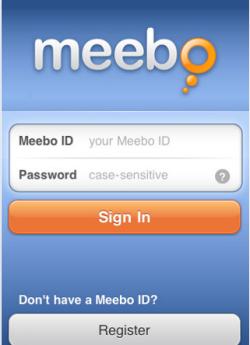 Meebo per iPhone