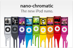 ipod nanochromatic