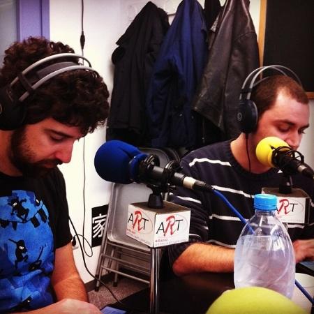 Raül Arribas i Alvaro al podcast 99