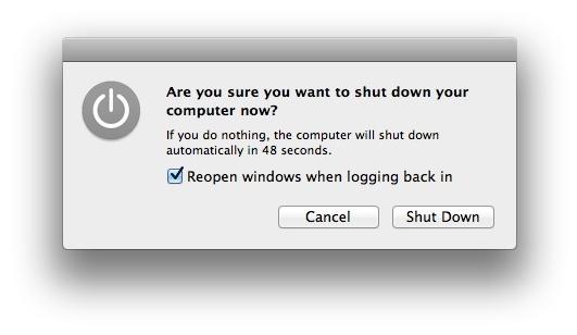 Reopen Windows