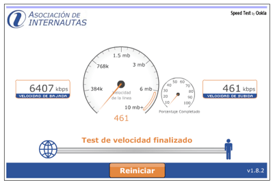 speedtest internautas.org