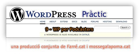 tutorial de wordpress practic 9 - wp per podcasters