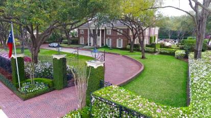 Georgian Estate Gardens – River Oaks, Houston