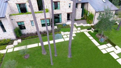 Hill Country Contemporary – Piney Point Village, Houston