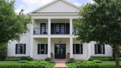 Contemporary Southern Colonial – East Shore, The Woodlands