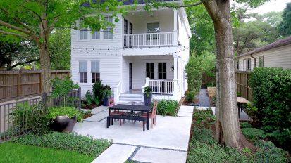Modern Patio Dining – Heights, Houston