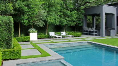 Contemporary Backyard Retreat – Tanglewood, Houston