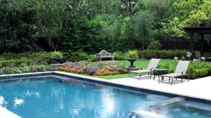 Poolside Summer Gardens    Memorial, Houston