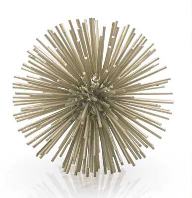 Metallic Starburst Sculpture MOSS MANOR A Design House
