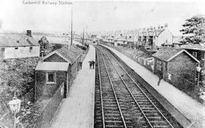 Corkerhill Train Station
