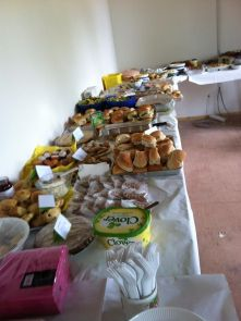 the feast we prepared for the may day event.