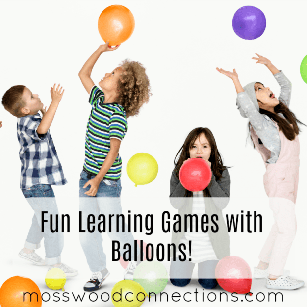 A BUNCH OF BALLOON ACTIVITIES: Fun Learning Games with Balloons!