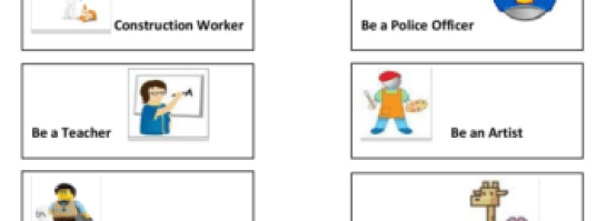 Jobs Charades Game Printables