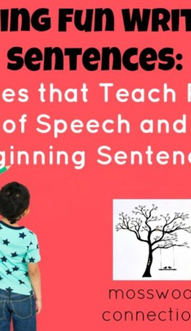 Games that Teach Parts of Speech and Beginning Sentences: Having Fun Learning to Write Sentences