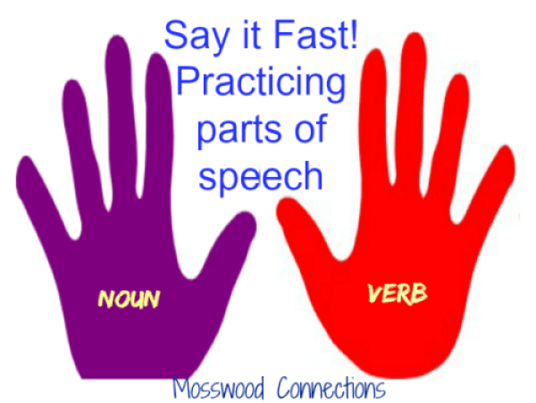 Say it Fast: Practicing Parts of Speech