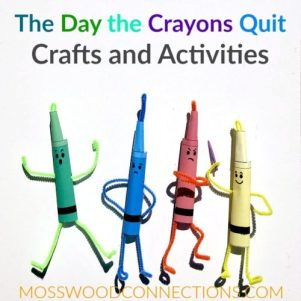 The Day the Crayons Quit Activities & Crafts
