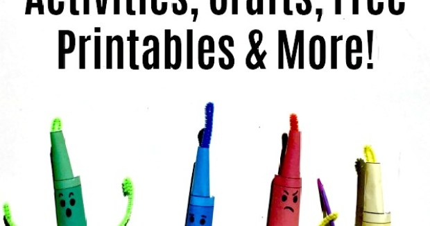 The Day the Crayons Quit Crafts and Activities