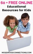 60 + Free Online Educational Resources for Kids