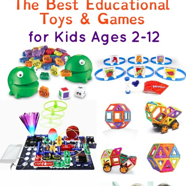 The Best Educational Gifts for Kids Ages 2-12