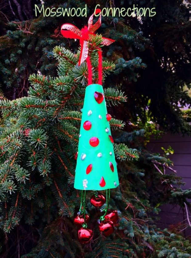 Jingle Bell Christmas Tree Ornament