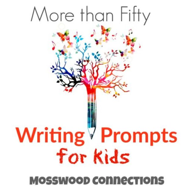 More than Fifty Writing Prompts for Kids. Encourage creativity with these writing prompts and story starters. Reluctant writers will be inspired to write!