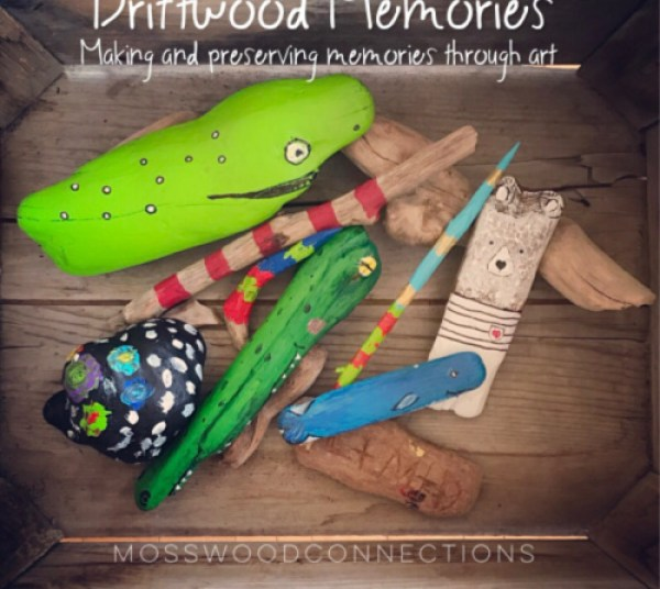 Driftwood art makes driftwood memories