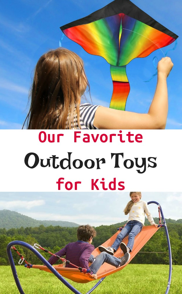 Our Favorite Outdoor Toys for Kids. Therapist Approved Sensory Exercise. #mosswoodconnections #sensoryplay #outdoortoys