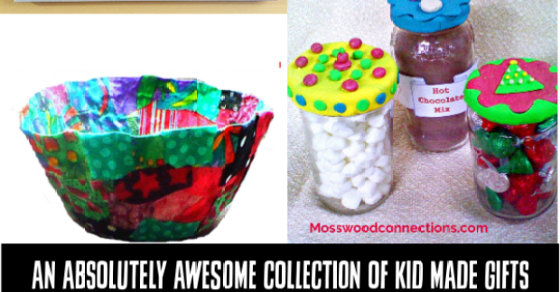 An Absolutely Awesome Collection of Kid Made Gifts