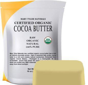 Cocoa Butter for Beard Butter Recipe