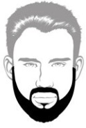 Beard Types - Full Beard - Mossy Beard